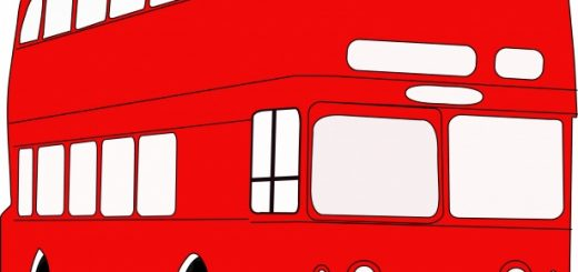 red bus travel